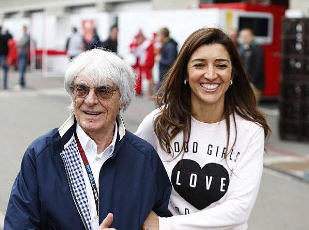 Bernie und Fabiana Ecclestone