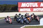 MotoGP Start auf Phillip Island
