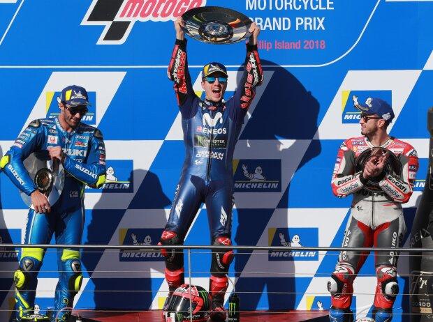 Maverick Vinales, Andrea Iannone, Andrea Dovizioso