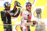 Marc Marquez (Honda) und Johann Zarco (Tech 3)