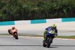 Valentino Rossi vor Marc Marquez
