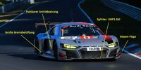Audi R8 LMS 2019, Technik-Analyse