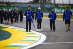 Pierre Gasly (Toro Rosso) und Sergio Perez (Racing Point)