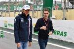 Esteban Ocon (Racing Point) und Paul di Resta