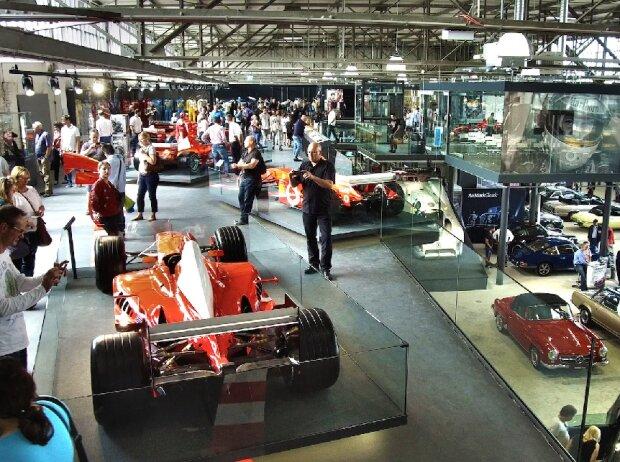 Michael Schumacher Private Collection in der Motorworld Köln-Rheinland