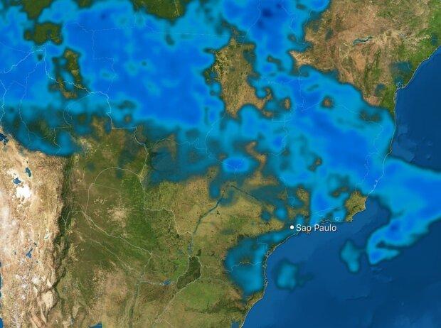 Regenprognose für Sao Paulo