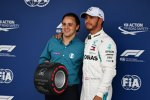 Lewis Hamilton (Mercedes) und Felipe Massa