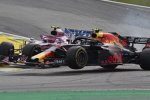 Esteban Ocon (Racing Point) und Max Verstappen (Red Bull)
