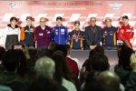 Albert Arenas (Angel Nieto), Pol Espargaro (KTM), Maverick Vinales (Yamaha), Daniel Pedrosa (Honda), Marc Marquez (Honda) und Jorge Lorenzo (Ducati)