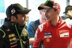 Johann Zarco (Tech 3) und Jorge Lorenzo (Ducati)