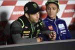 Johann Zarco und Valentino Rossi