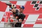 Andrea Dovizioso (Ducati) und Pol Espargaro (KTM)