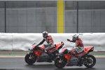 Michele Pirro und Andrea Dovizioso (Ducati)