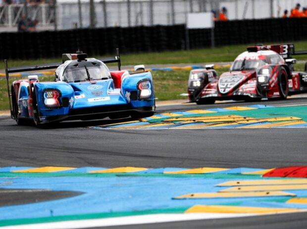 SMP vs. Rebellion bei den 24h Le Mans 2018