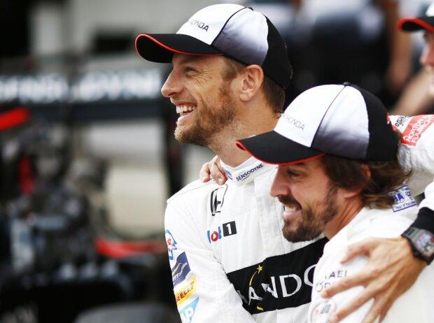 Fernando Alonso, Jenson Button, Stoffel Vandoorne