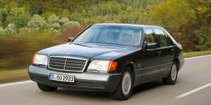 Mercedes 600 SEL W 140 (1991): Unterwegs in der XXL-S-Klasse