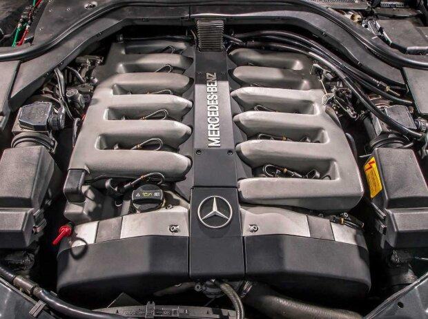V12-Motor des Mercedes Mercedes-Benz 600 SEL W 140 (1991)