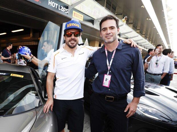 Fernando Alonso, Jimmie Johnson