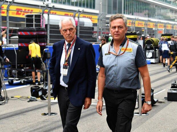 Marco Tronchetti Provera und Mario Isola