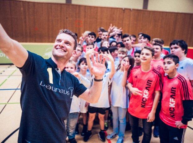 Marco Engel, Botschafter Laureus Sport for Good
