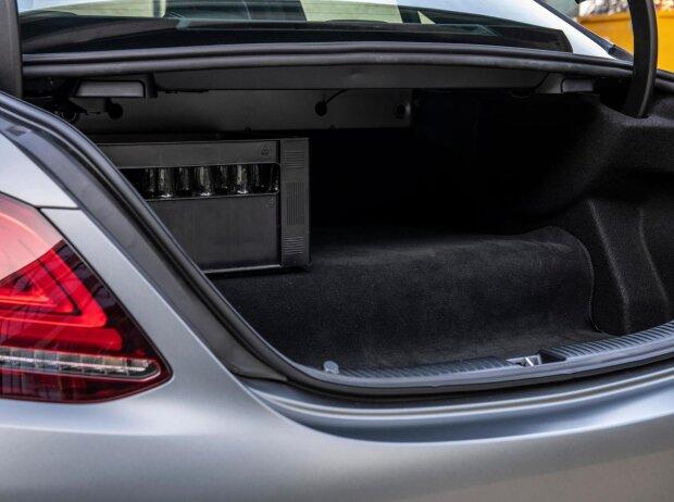 Kofferraum des Mercedes-Benz C 300 de (2019)