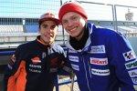 Marc Marquez (Honda) und Tito Rabat (Avintia)