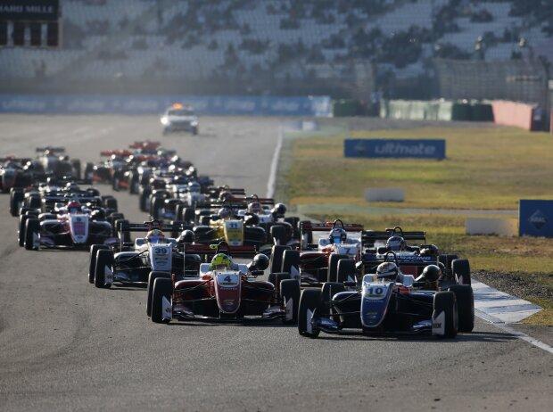 Start zum Finale der Formel-3-EM 2018 in Hockenheim