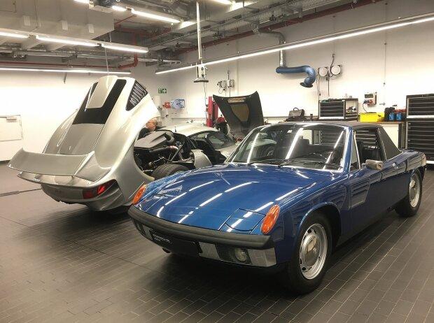 Werkstatt des Porsche-Museums: Porsche 914/6 (1969)