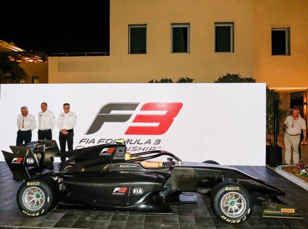 Neues Formel-3-Auto für 2019