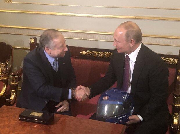 Jean Todt und Wladimir Putin