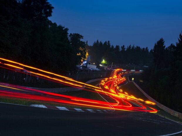 24h Nürburgring, Flair, Rücklichter, Langzeitbelichtung