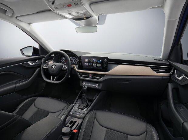 Innenraum und Cockpit des Skoda Scala 2019