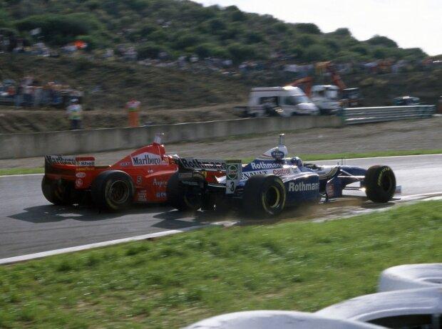 Michael Schumacher, Jacques Villeneuve