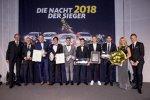 Die Geehrten bei der ADAC-Sportgala 2018