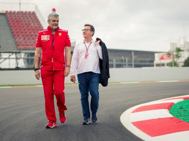 Maurizio Arrivabene und Louis Camilleri