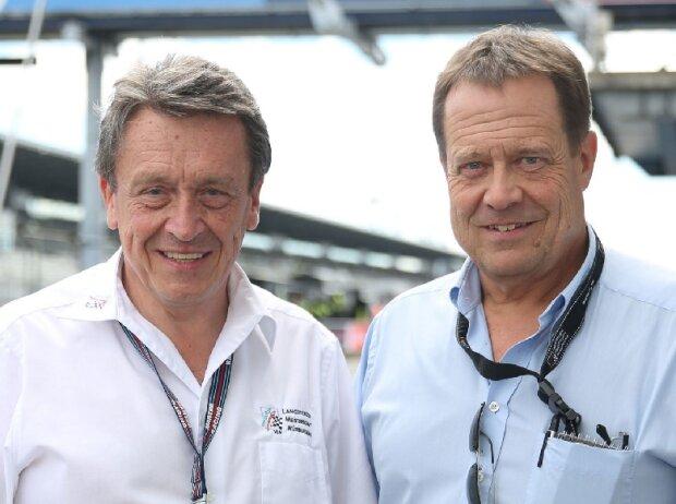 Ralph-Gerald Schlüter und Michael Bork