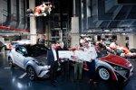 Preisverleihung  TOYOTA GAZOO Racing Trophy 2018