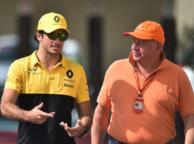 Carlos Sainz und Dieter Rencken