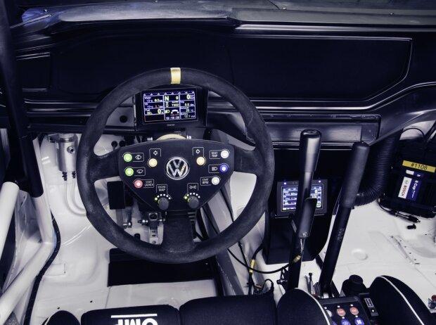 Cockpit im Volkswagen Polo GTI R5