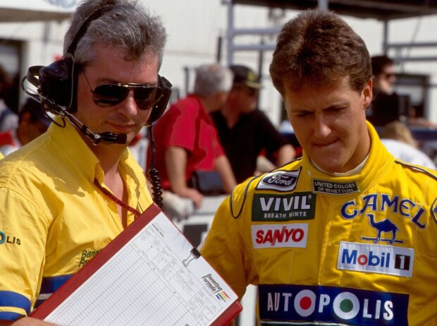 Michael Schumacher, Pat Symonds