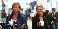 Sabine Kehm und Corinna Schumacher