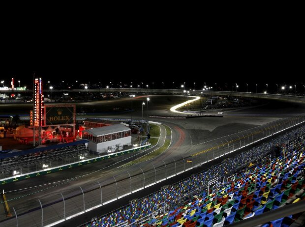 Nacht am Daytona International Speedway