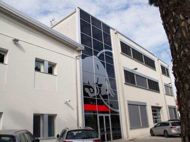 Toro-Rosso-Fabrik in Faenza im Februar 2018