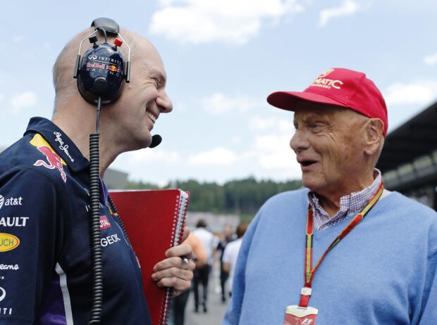 Adrian Newey, Niki Lauda