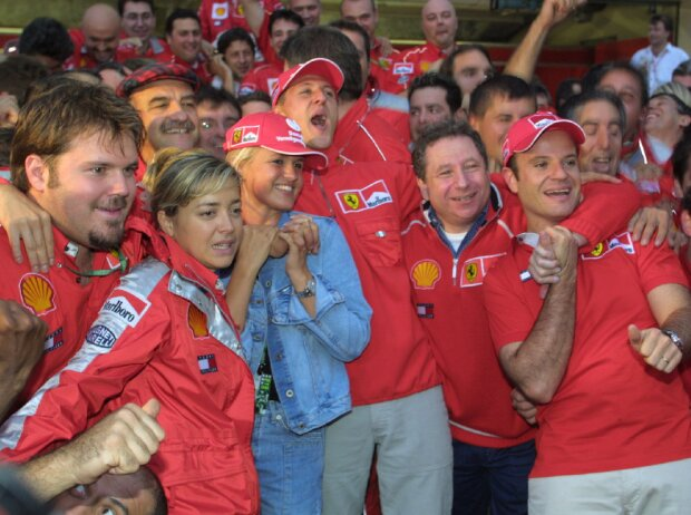 Michael Schumacher, Rubens Barrichello