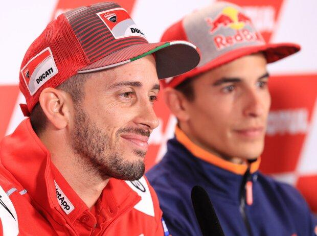 Andrea Dovizioso, Marc Marquez