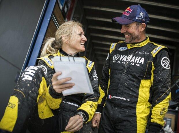 Andrea und Stephane Peterhansel