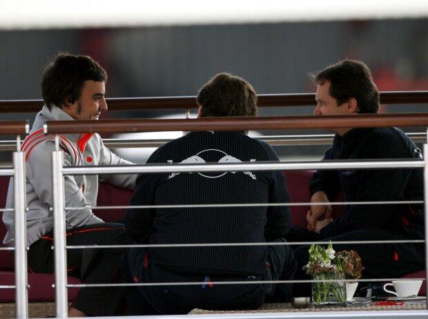 Fernando Alonso, Christian Horner