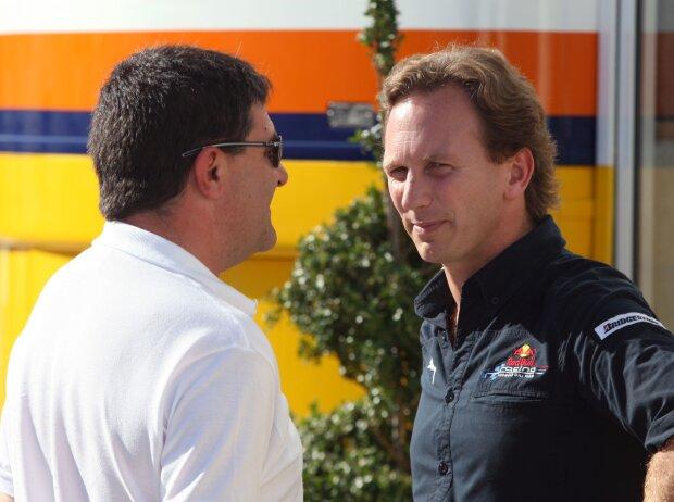 Luis Garcia Abad und Christian Horner