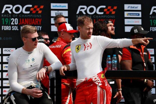 Johan Kristoffersson Sebastian Vettel  ~Johan Kristoffersson und Sebastian Vettel ~